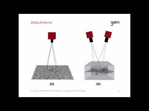 GOM Trainings-Webinar - 2D und 3D - Bildkorrelation in der Material- und Bauteilprüfung