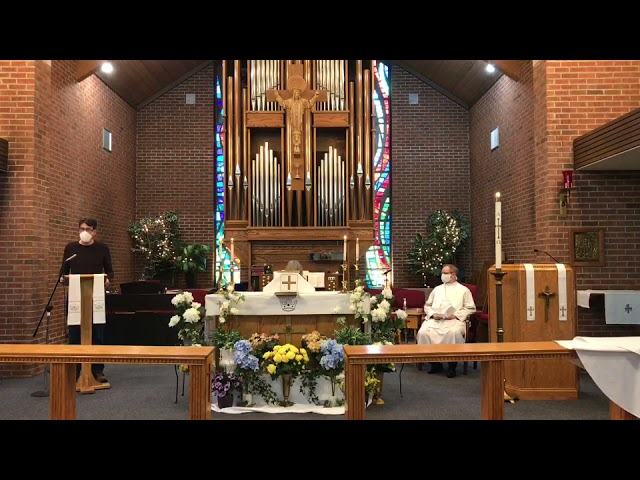 6 Easter - Holy Eucharist - 5/09/21
