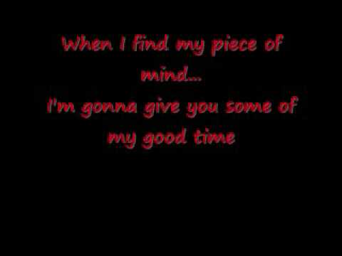 Red Hot Chili Peppers- Soul to Squeeze with lyrics