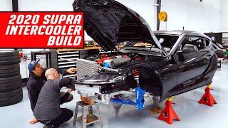 2020 Drift Supra Powder Coat Chassis and Intercooler Build