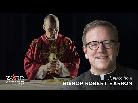 Bishop Barron on Silence and the Meaning of the Mass