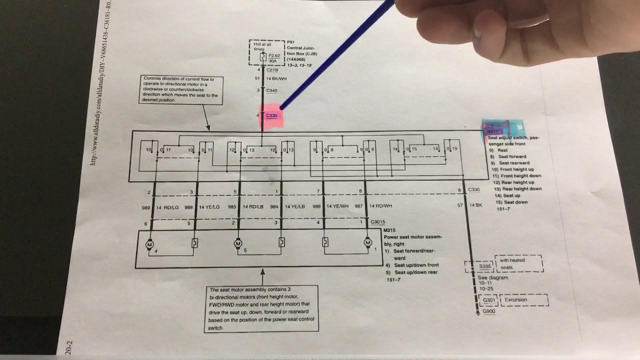 f250 seat wiring [ 1280 x 720 Pixel ]