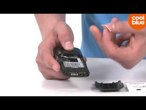 Hoe plaats je een SIM kaart in de Emporia Elegance Plus GPS (NL/BE) AV