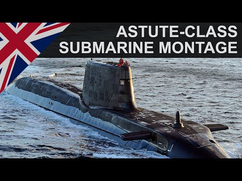 Astute Class Nuclear Attack Submarine | Royal Navy | 2014 | HD