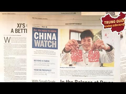 Trung Quốc Lan Thông Tin Sai Lệch qua Truyền Thông Phương Tây   Trung Quốc Không Kiểm Duyệt