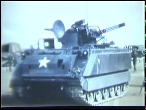 Vulcan APC Weapons System Arrives in Vietnam + Fire Demonstration on M-163 (Nov. 1968)