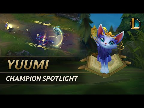 Yuumi Champion Spotlight  Gameplay - League of Legends