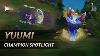 Yuumi Champion Spotlight | Gameplay - League of Legends