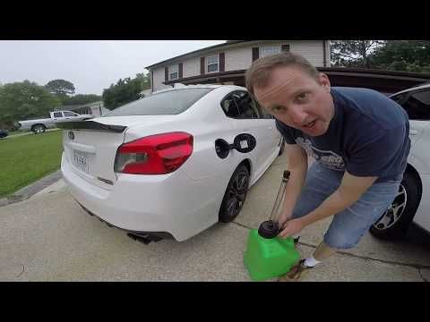 2015 Subaru WRX Ep. 773: My E-85 Flex Fuel Fill-up Process