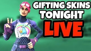 🔴 LIVE - SKINS GIFT RIGHT NOW - HOSTING CUSTOM MATCHMAKING WITH SUBS - FORTNITE PAKISTAN