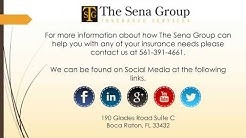 Car Insurance Rates Boca | The Sena Group | Boca Raton, FL