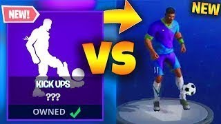 A PLAYER DEBLOQUE THE PROCHAINES DANSES AND SKINS ON FORTNITE!! (EMOTE FOOTBALL, SUPERPRODUCTION)