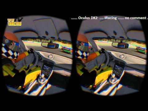 VE Racing TV   -  Oculus DK2 IRacing Test - Just a Replay Passenger - vomit test ;-)