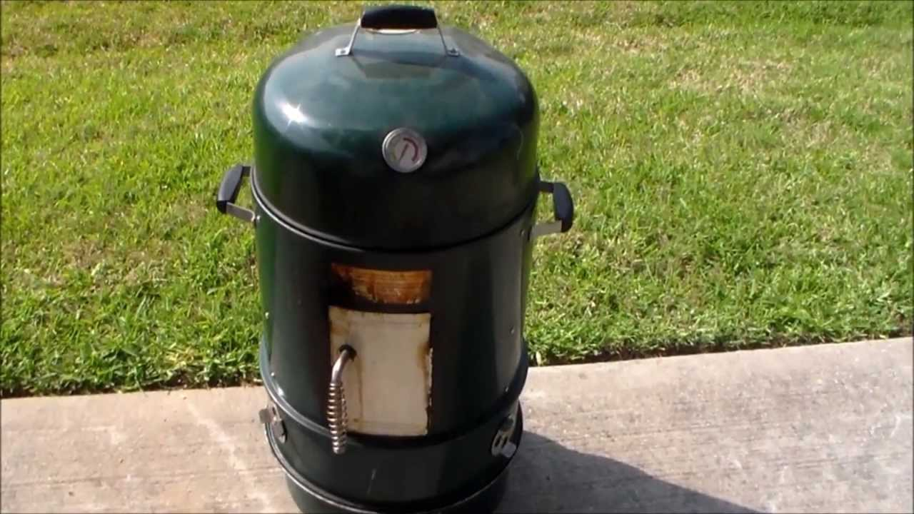 master forge vertical charcoal smoker modifications youtube. Black Bedroom Furniture Sets. Home Design Ideas