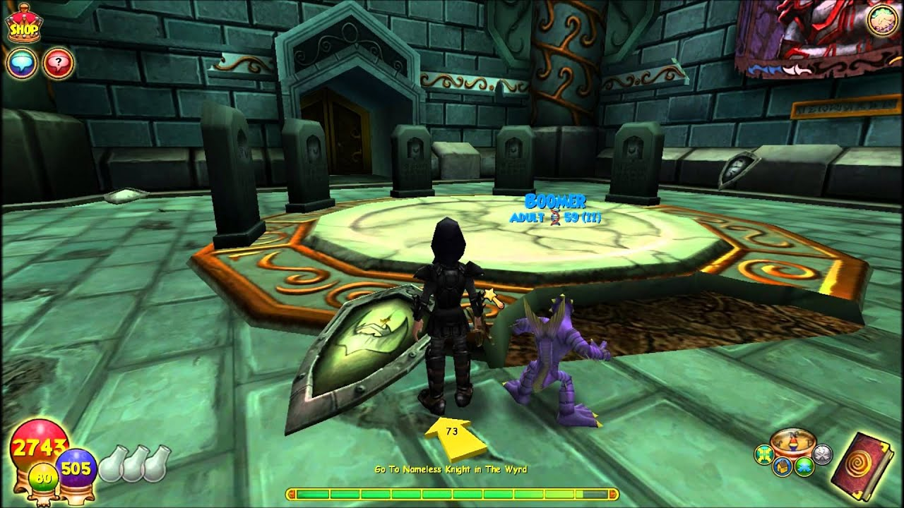 Summary -> Lost Knight Wizard101 - stargate-rasa info