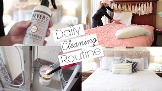 My Daily Cleaning Routine   Stay at Home Mom, Power Hour