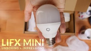 LIFX Mini | Unboxing + First Impressions