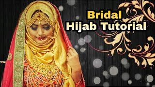 Requested Bridal Hijab Tutorial 2018 || Afsana Rakhi