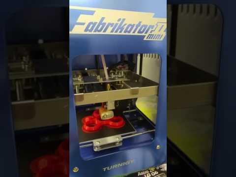Fabrikator mini II in printing ... - YouTube