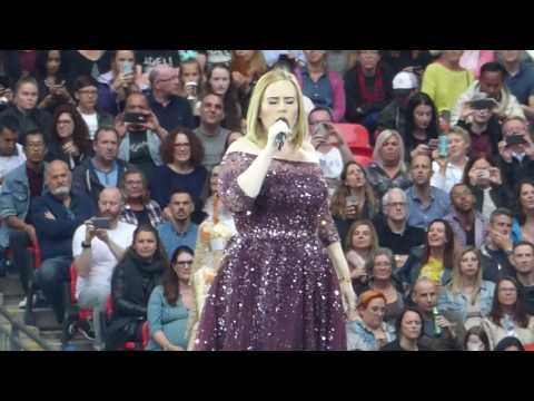 Adele  HELLO  Wembley  Thursday June 29, 2017 HD
