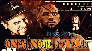 NBA 2K18 TRAILER REACTION! New My Player Customization! New Body Types & Accessories
