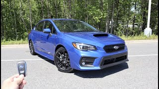 2021 Subaru WRX Limited: Start Up, Exhaust, Test Drive and Review