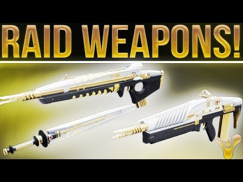 Destiny Leviathan. Amazing Raid Weapons! Killer New Raid Weapon Reviews!
