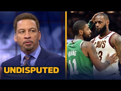 Chris Broussard reacts to LeBron's All-Star draft picks and reuniting with Kyrie | UNDISPUTED