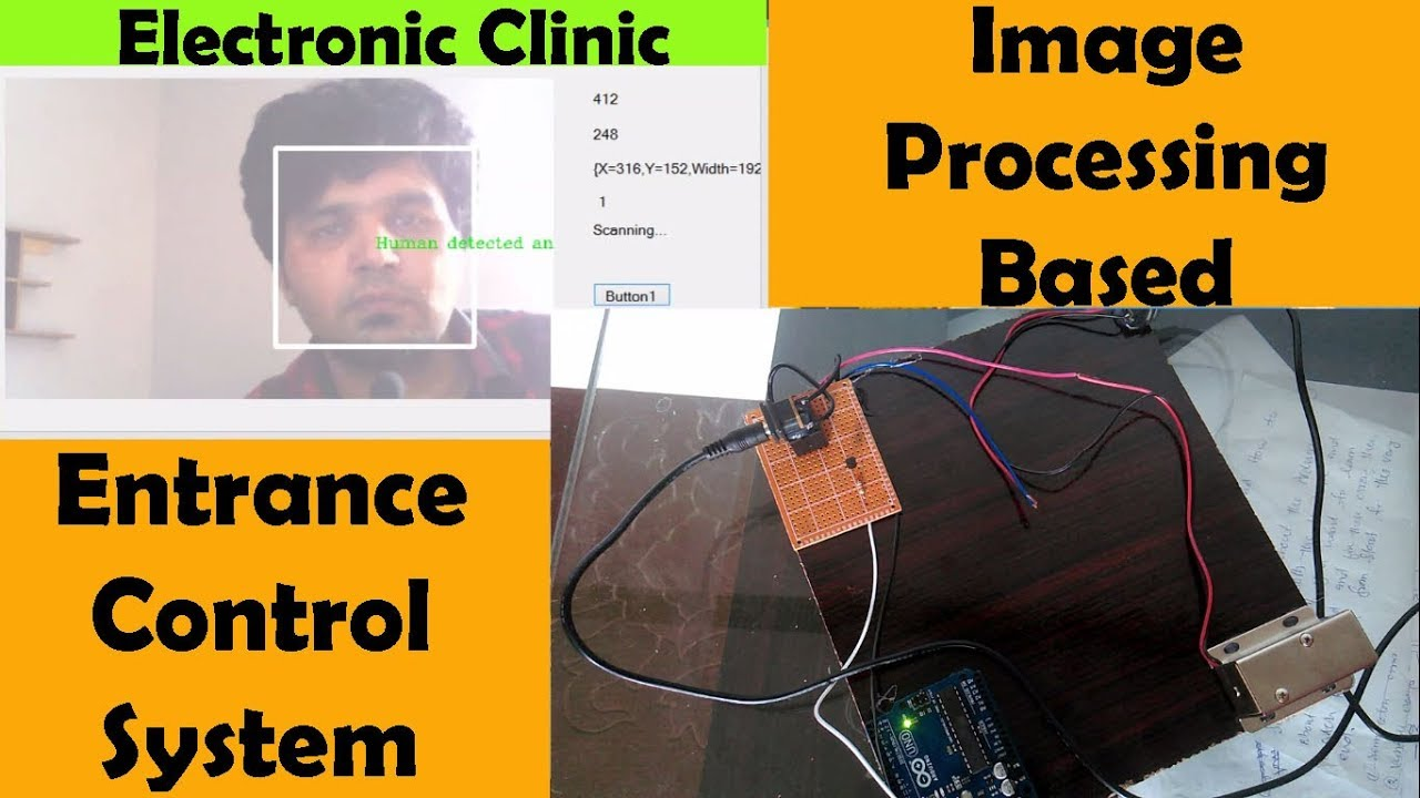 Arduino Picture Processing human face recognition and