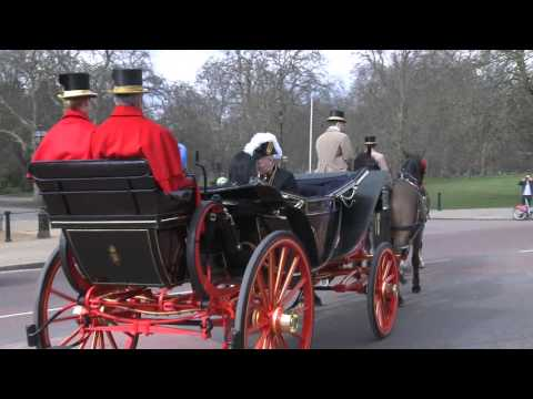 High Commissioner of India : Presentation of Credentials ceremony carriage procession 16 March 2016