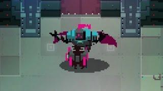 Hyper Light Drifter: The Sorcerer Boss Fight (4K 60fps)