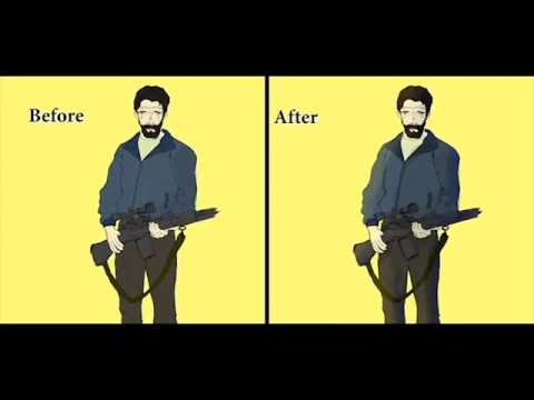 Creating and Animation using, Rotoscope, Stopmotion, Flash & Aftereffects