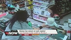 Woman has seizure at cash register
