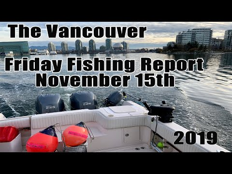 Pacific Angler Fishing Report November 15th, 2019