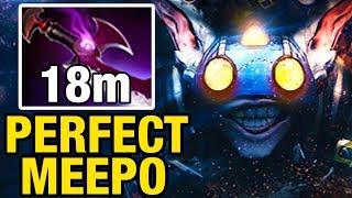 PERFECT MEEPO - Ahjit WITH 38 KILLS - Dota 2