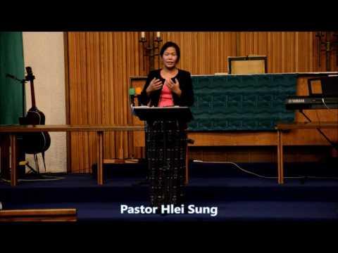 Pastor Hlei Sung, CBCUSA Nubu Secretary, thawngtha chimlio