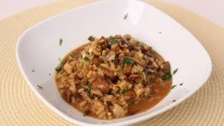 Mushroom Risotto Recipe - Laura Vitale - Laura in the Kitchen Episode 466