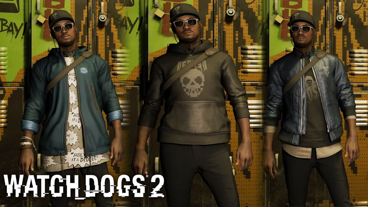 Watch Dogs 2 All Dedsec Outfits And Clothes Including Original