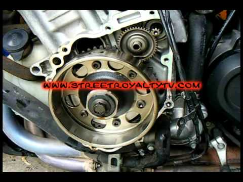 S R Tv Epiosde Stator Replacement Honda Cbr 929rr Youtube