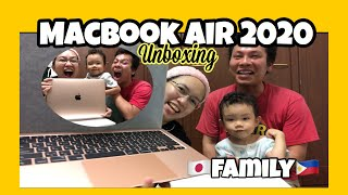 2020 MACBOOK AIR UNBOXING   UNBOXING my very first Laptop MACBOOK AIR
