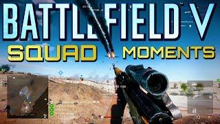 Battlefield 5: Squad Moments #3 (Battlefield V Multiplayer Gameplay)