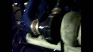 essai moteur v 12 / 2 turbo