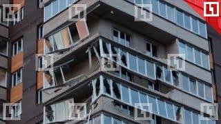 Ураган обрушил дом в Обнинске
