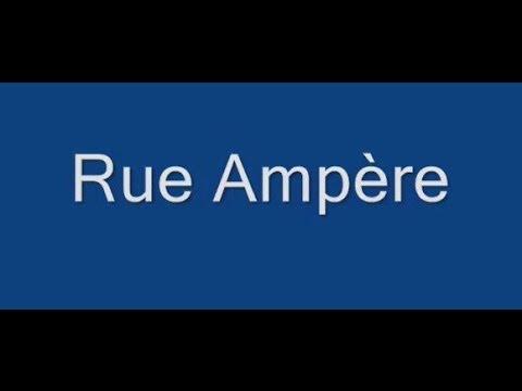Rue Ampère Paris  Arrondissement  17e