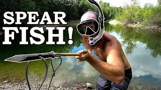Snorkel Spearfishing the Trout Pond (Freshwater)