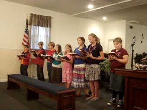 "Upson Christian Academy singing ""I Will Follow"""