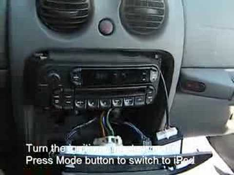 GROM BT3 Bluetooth iPhone Android Jeep Liberty 2004 2005 2006 2007  interface adapter kit installatio