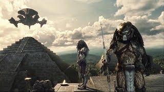 6分钟看完科幻恐怖片《异形大战铁血战士》少年铁血大战异形女皇