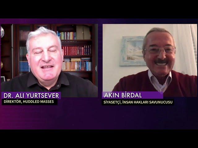Susturulmuş Türkiye; Akın Birdal, (Siyasetçi, İnsan Hakları Savunucusu) ile Türkiye'de İnsan Hakları