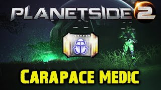 Medic Carapace Gameplay - Planetside 2